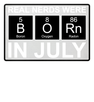 Periodic Elements - BORN july white