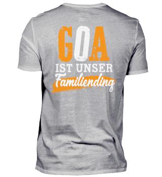 Goa ist unser Familiending - back