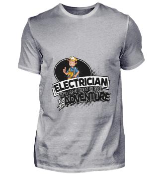 D001-0309B Proud Electrician Elektriker