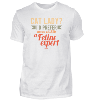 Katzenmama wife Lady pet cat