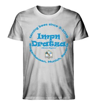 Impn Dratza Shirt blaue Schrift