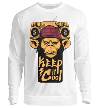 Herren Langarm Shirt Urban Monkey Ramirez