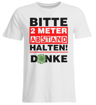 BITTE 2 METER ABSTAND HALTEN #1.1