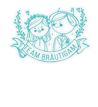 Team Bräutigam Hochzeit Junggesellenenab