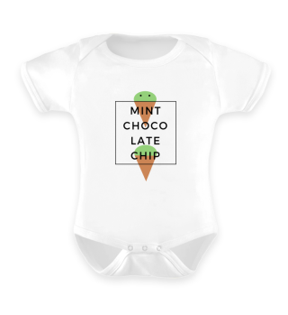 Baby Romper Mint Chocolate Chip