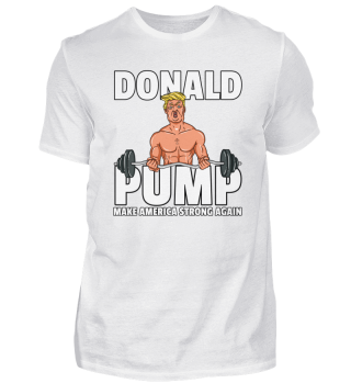 Donald Trump Sport Fitness Sportler Gym
