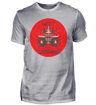 last samurai katana ronin japan shirt