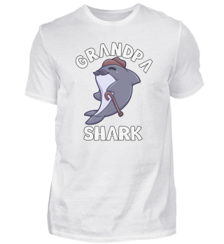 Grandpa Shark old pension grandfather Ha