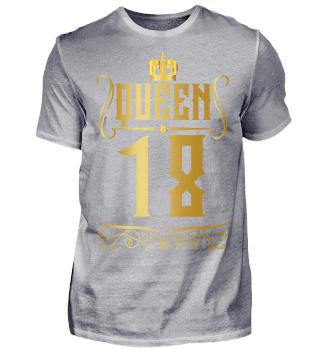 18. Geburtstag 18 Jahre Queen Königin