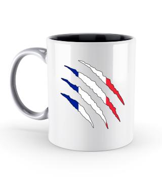 Frankreich Flagge WM Tasse Geschenk