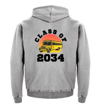Class of 2034 Kindergarten Hoodie