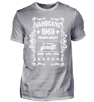50. Geburtstag T-Shirt Jahrgang 1969