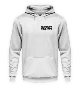 Unisex Hoodie mit schwarzem Logo