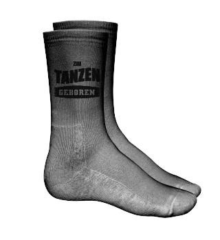 Zum Tanzen geboren Socken