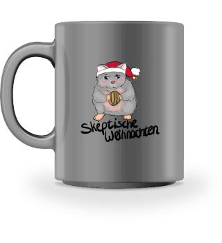 Skeptische Weihnachten Tasse