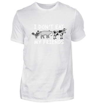 I don't eat my friends.