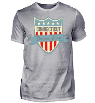 Herren Kurzarm T-Shirt Connecticut Ramirez