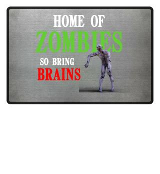 Halloween Home of Zombies
