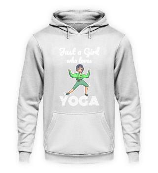 Yoga Sports Love girl woman gift
