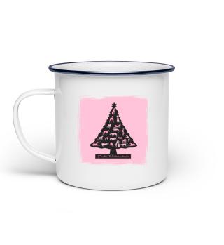 Windhund - Weihnachts - Baum