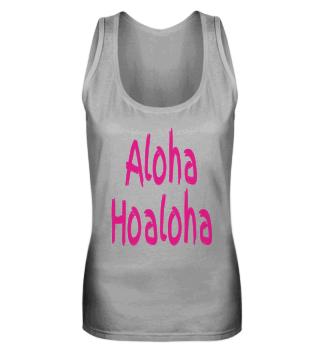 Aloha Hoaloha Schwarz-Pink