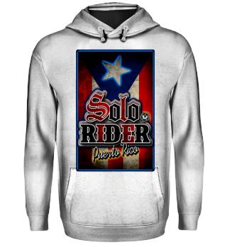 Herren Hoodie Sweatshirt Solo Rider Ramirez