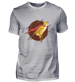 Superheld Vogel