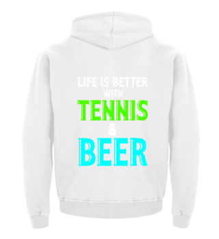 Life is better with tennis and beer