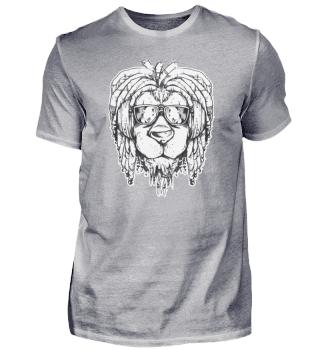 Rasta Lion with Dreadlocks