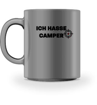 Ich hasse Camper - Tasse