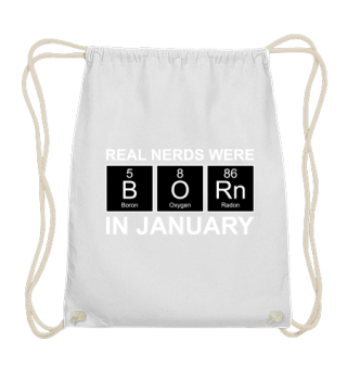Periodic Elements - BORN january - white