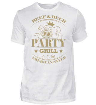 ☛ Partygrill · American Style #2G