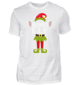 CHRISTMAS MOMMY ELF T-SHIRT