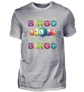 What Happen At Bingo Pensioners Gambling