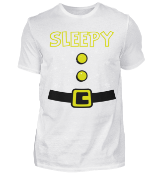 SLEPPY DWARF CHRISTMAS T-SHIRT