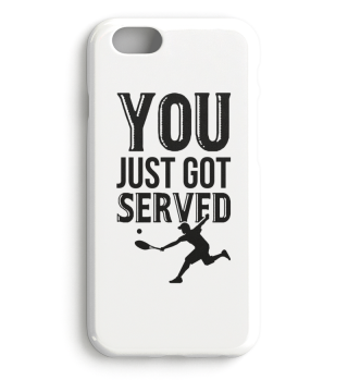 Tennis - All you have to do is serve