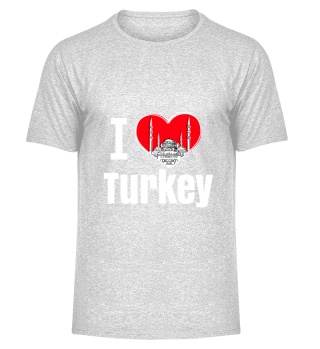 D001-0077A I love Turkey / Türkei