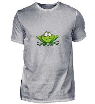 Verwirrter Frosch