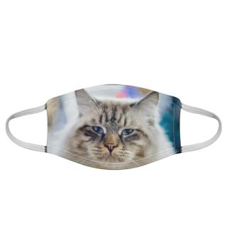 Gesichtsmaske mit Katzenmotiv 20.66
