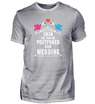 2020 Postponed wedding - Pandemie