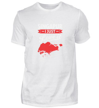 Singapore map Asia Far East