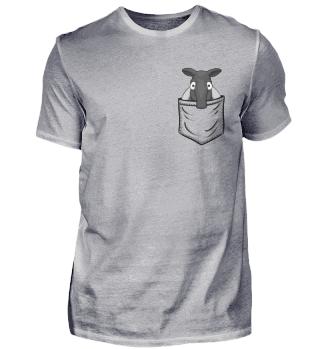 Schabrackentapir in Tasche Pocket Tapir