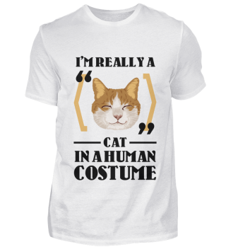 D007-0098A I'm really a Cat in a human c
