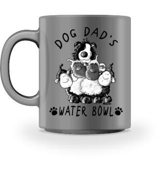 Border Collie Dog Dad's Bowl I Mug