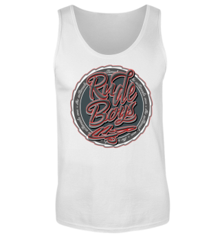 Herren Tank Top Rude Boys Ramirez