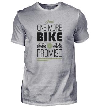 Nur noch ein Fahrrad, verspreche ich