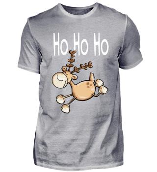 Ho Ho Hoo Rentier I Weihnachten