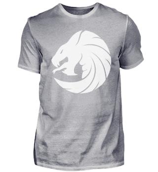 Drachenschlange in weiß