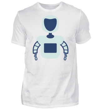 Robot Silhouette Face Robotics
