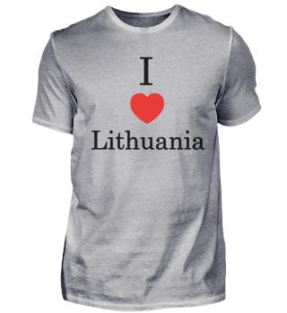 I love Lithuania